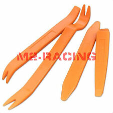 4pcs Car Radio Stereo Door Clip Trim Dash Panel Install Removal Pry Tool Kit