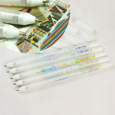 1Pc Pastel White Gouache Ink Gel Pen Stationery Write Smooth Sign Art Craft
