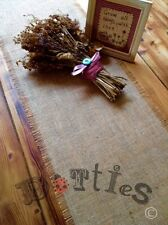 6ft Rustic Handmade Hessian Table Runner