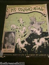 ORIGINALE SPARTITI MUSICALI-It's a molla NUOVO-JACK Simpson