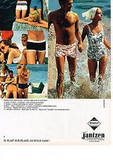 PUBLICITE  1968  JANTZEN  maillots de bain
