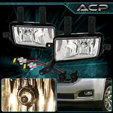 2015-2016 Chevy Tahoe Suburban Clear Lens Fog Light Front Bumper Driving Lamp