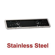 Stainless Steel Car Number Plate Surround - Rear Registration Plate Holders