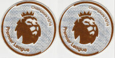 NEW Premier League Champion Set of 2 Patch Logo Badge Iron on 2016/17 Leicester
