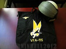 "USN Pilot Naval Aviation VFA-115 ""EAGLES"" flight helmet bag HGU"