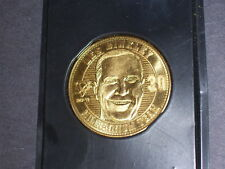 PENQUINS TOM BARRASSO & LESS BINKLEY COIN MILLENIUM TEAM 2000 COMMEMORATIVE