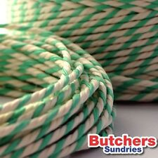 Green White Bakers Butchers Catering String / Twine Craft 190g = 100m