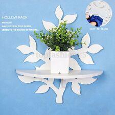 Muro Mensola Scaffale Ripiano Pensile Bianco Fiore Shelf Board Casa Decorazione