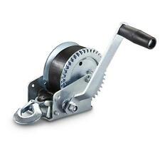 """MANUAL TRAILER WINCH-1000 LB.  with 2"""" x 25'  Polyester Strap"""