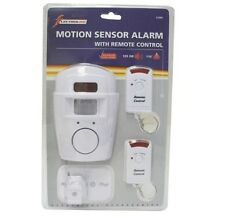 PIR ALARM WIRELESS MOTION SENSOR SHED GARAGE VANS TRUCK CARAVANS BOATS TENTS ETC