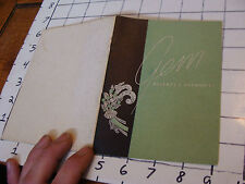 vintage JEWELRY booklet: 1947 GEMS accents & harmonies, 20 pages