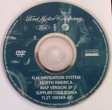 2006 - 2008 Ford Lincoln Mercury Navigation System DVD MAP Update Version 3P