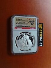 2019 Proof Silver Starving Liberty Ngc Pf70 Zombucks Z50 1 Oz Round Series 7