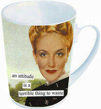 NEW Anne Taintor Ceramic Mug Cup Sassy Witty Fun Funny Retro Gift - ATTITUDE