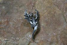 Anhänger Amulett Phönix gross Silber+Lederband Magie Schutz Sterlingsilber 6g