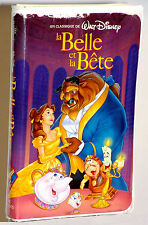 La Belle et La Bete/RARE VHS MOVIE CLASSIC/Black Diamond/FRENCH-FRANÇAIS/Disney