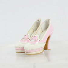 "16"" Sherry Fashion Shoes Pumps Tonner Doll Antoinette Ellowyne Wilde Cami Pink"