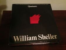 "WILLIAM SHELLER - LES QUATORS 12"" LP MODERN CLASSICAL ANOTHER SIDE BELGIUM"