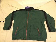 Vintage Men's Nike ACG Track Jacket L Solid Forest Green VTG Nylon
