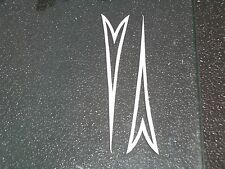 Vintage Schwinn StingRay Bicycle Fork Dart Decals white