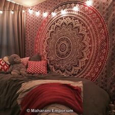 Indian Mandala Wall Tapestry Bohemian Dorm Tapestries Large Throw Bedspread SALE