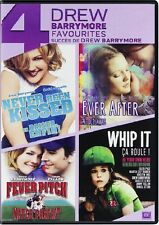 NEVER BEEN KISSED + EVER AFTER + WHIP IT + FEVER PITCH *NEW DVD SET*