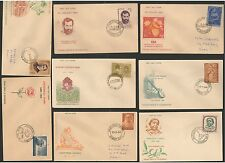 FDCYP - 037. INDIA 1964. Complete Year Pack with 15 First Day Covers.