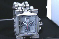 NEW IN BOX OAKLEY MEN'S MINUTE MACHINE TITANIUM / SILVER DIAL WATCH 10-194 !!
