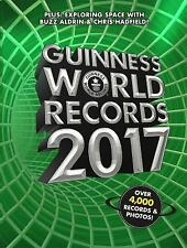GUINNESS BOOK OF WORLD RECORDS 2017 Hardcover book Sports HB NEW gift guiness