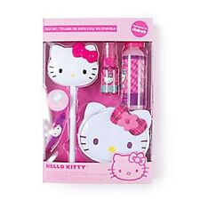 Hello Kitty Sanrio Hair Set Cosmetic Bag, Mirror Wand, Hair Clip Glitter Mist