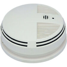 New Battery Powered Infrared WiFi Smoke Detector Camera Recorder DVR Side View