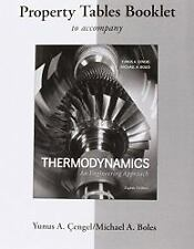 Property Tables Booklet for Thermodynamics: An Engineering Approach by Yunus A.