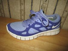 EUC women's purple NIKE FREE RUN 2 athletic shoes - size 6 -  SUPER CUTE!!!!