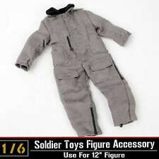 "1/6 Dragon DML Toy WWII US Tank Crews Coverall Jacket Model F 12"" Action Figure"