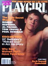 PLAYGIRL May 1993 MARK WAHLBERG UC Berkley Naked Guy NATIVE AMERICAN centerfold