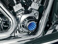 Kuryakyn Infinity Chrome LED Timing Cover Harley 1301