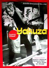 YAKUZA 1975 ROBERT MITCHUM K.TAKAKURA POLLACK JAPANESE MAFIA EXYU MOVIE POSTER 2