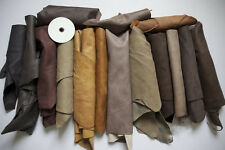 1kg Beautiful Large scraps/ Off cuts Leather Italian