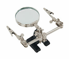 High Quality Helping Hand with 60mm magnifying glass soldering stand ON SALE