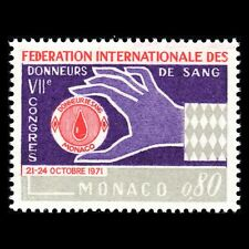 Monaco 1971 - Blood Donors Federation Congress - Sc 811 MNH