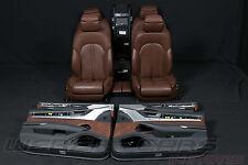 Audi A8 4H Langversion Innenausstattung Lederausstattung Massage Sitze Heizung