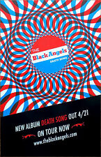 THE BLACK ANGELS Death Song 2017 Ltd Ed RARE New Poster +FREE Rock Punk Poster!