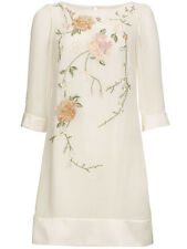 BNWT Monsoon Hardy Embroidered Embellished Shift Occasion Wedding Bridal Dress 8