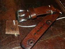 Hand made 24mm Swiss Leather Ammo watch strap