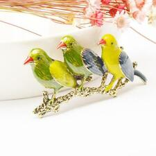 Fashion Bird Animal Crystal/Rhinestone Brooch Pin Women/Men Vintage Jewelry
