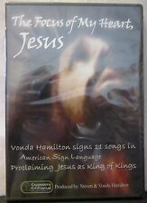 The Focus of My Heart, Jesus DVD NEW