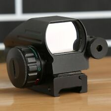 Tactical Holographic 4 Reflex Red Green Dot Laser Sight Scope with 20mm Rail