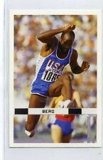 (Jh133-100) RARE,Trade Card Booster of Ed Moses, Athlete 1986 MINT