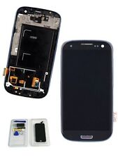 For Samsung Galaxy S3 I9300 Replacement LCD Screen Digitizer Touch W/ Frame UK