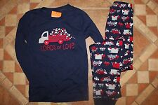 NWT Gymboree Valentines Gymmies Size 7 Navy Blue Truck Loads of Love Pajamas